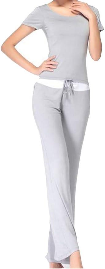 Gladiolus Deportes Yoga Top Camisa + Pantalones Deporte Trajes Gimnasio Conjuntos para Mujer: Amazon.es: Ropa y accesorios