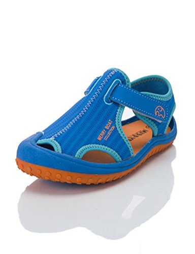 Nubuck Boys Sandals - HILEELANG Kids Boy Girl Soft Light Weight Closed Toe Sport Sandals Beach Shoes (Toddler/Little/Big Kid)