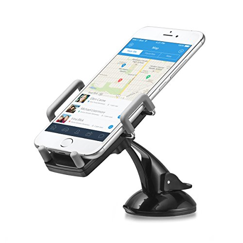 G-CORD (TM) Universal Car Mount, Cell Phone Dashboard Windshield Holder Cradle