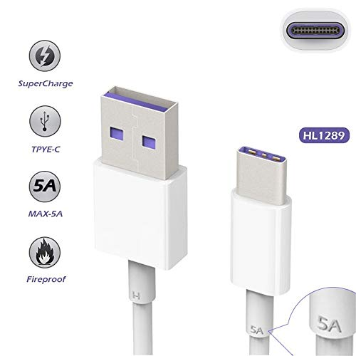 Type C USB-C Date Sync Charger 5A Fast Charging Cable for Huawei P20 Lite Pro P10 Mate 10 (2m) by OUTOPEN (Image #7)