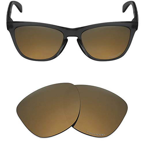 Mryok+ Polarized Replacement Lenses for Oakley Frogskins - Bronze Gold