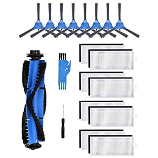 Hyphen-X Replacement Parts Compatible with Eufy RoboVac 11S, RoboVac 30, RoboVac 30C, RoboVac 15C,RoboVac 12, RoboVac 35C Accessory Robotic Vacuum Cleaner Filters, Side Brushes,Rolling Brushes