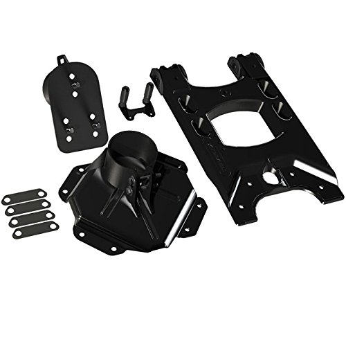 Teraflex 4838150 JK HD Aluminum Hinged Tire Carrier with Adjustable Spare Tire Mount