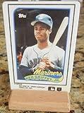 1989 Topps Baseball - Ken Griffey Jr Rookie Card 41 T - Ceramic Porcelain