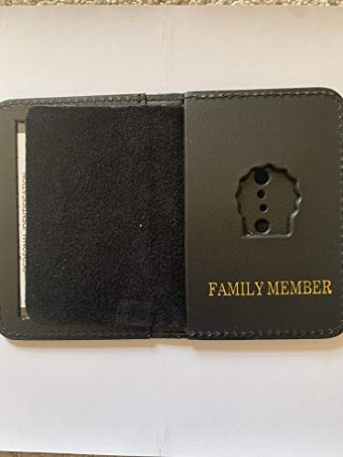 (MINI DETECTIVE FAMILY MEMBER COURTESY SHIELD AND ID WALLET )