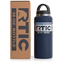 Rtic Stainless Steel Bottle (36oz), Matte Navy Blue
