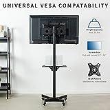 VIVO Universal Mobile TV Cart for 23- 55 inch LCD