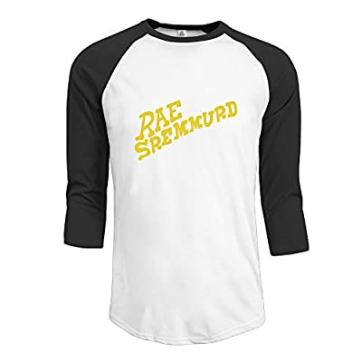 Hip Hop Duo Rae Sremmurd SremmLife Youth 3/4 Sleeve Raglan Crew-Neck T-shirt