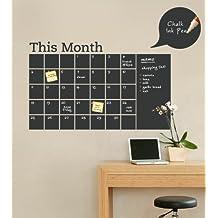 Final SALE Chalkboard Calendar with Memo Wall Decal