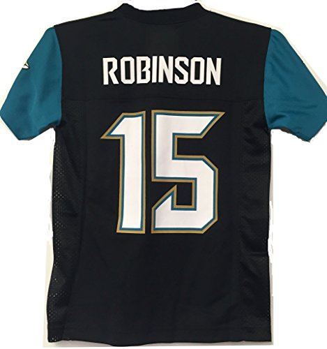 Allen Robinson Jacksonville Jaguars #15 Black Youth Mid Tier Home Jersey (X-Large 18/20)