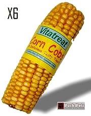 Épi de maïs - Friandise séchée savoureuse - Lot de 6