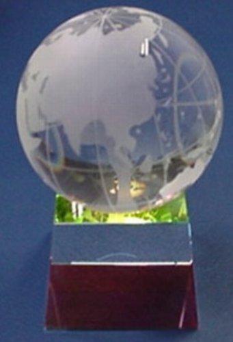 Crystal Globe & Prism Base (Globe Prism)