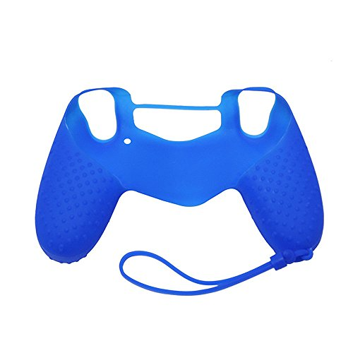 ❤️Jonerytime❤️Soft Silicone Case Cover Skin Protector for Sony Playstation 4 PS4 Controller (Blue) (Xbox 360 Controller Kabel)