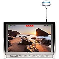 LILLIPUT 7 339/W IPS 1280x800 HDMI FIELD Monitor WITH AUTO SEARCHING 5.8G Hz for Aerial Flying Wireless DJI Phantom 2 +BUILT IN BATTERY BY LILLIPUT OFFICIAL SELLER VIVITEQ(White)