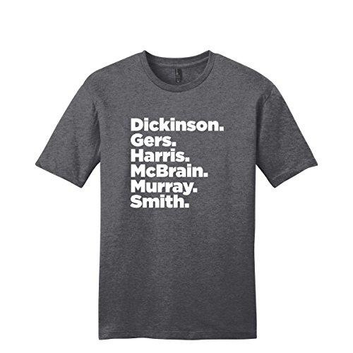 Iron Maiden T shirt, Iron Maiden Band Members Lineup Shirt (3XL)