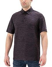 Naviskin Men's Golf Polo Shirts UPF 50+ Short Sleeve T-Shirts Quick Dry Athletic Shirts