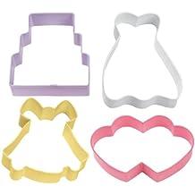 Wilton 4 Piece Wedding Cookie Cutter Set