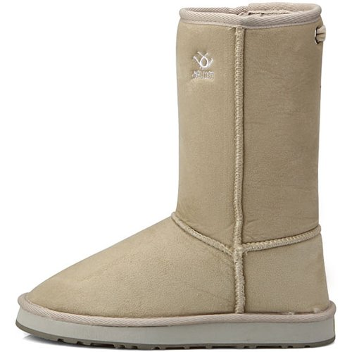 Snow Shearling Boots Winter Ivory Warm Womens New cR6FwvSqS