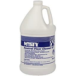 Misty B01804 1 gallon Optimax Neutral Floor Cleaner EP (Case of 4)