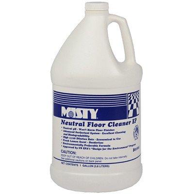 Misty B01804 1 gallon Optimax Neutral Floor Cleaner EP (Case of (Misty Neutral Floor Cleaner)