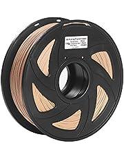 RuleaxAsi 3D Printer Filament Wood + PLA 1.75mm 1kg Spool Dimensional Accuracy +/- 0.02mm