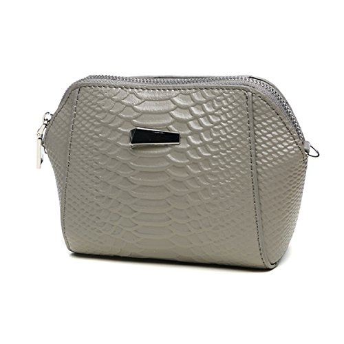 Bag Chain Bag Shell Womens Phone Mobile Clutch Wallet Messenger Mini Grey Bag Soft Large Capacity waw7vYq