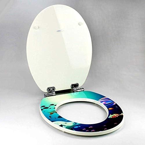 CXMWYトイレのふた トイレシートU/V/O形超硬トップ固定厚手洗面台付きソリッドウッドトイレ蓋家族向けに最適バスルーム複数のシーン