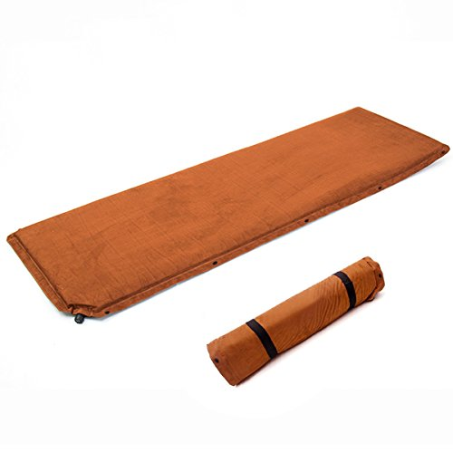 Zuoao Self-Inflating Mattress Cozy Suede Sleeping Pad for Camping Mountaineering and Other Outdoor Activities