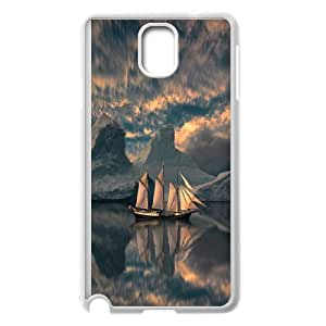 Tall sailing,Pirate Ship series protective case cover For Samsung Galaxy NOTE4 Case CoverSAIL-021-S3447
