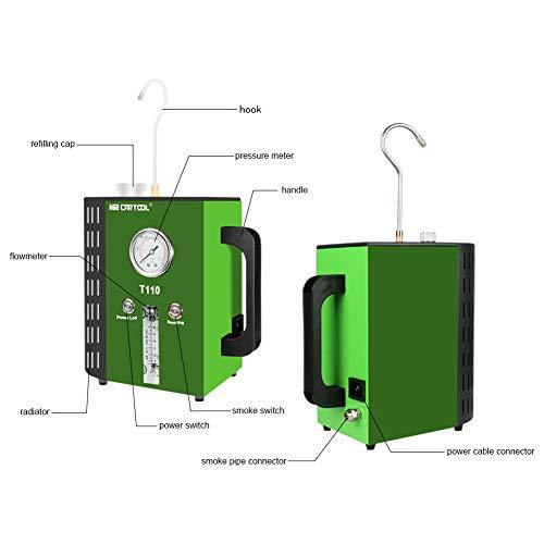 MRCARTOOL T110 2 MODE Automotive Fuel Leak Detectors Car Pipe Leakage Tester Car Leak Locator Automotive Diagnostic Leak Detector Support EVAP For Motorcycle/Cars/SUVs/Trucks/Boats by MRCARTOOL (Image #3)