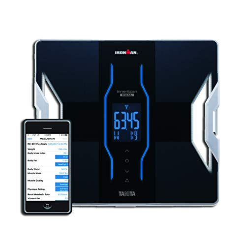 Tanita Body Composition Analyzer - Tanita RD-901 plus IRONMAN® Android and iPhone Bluetooth Radio Wireless Body Composition Scale