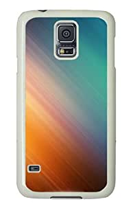 Samsung Galaxy S5 Case Cover - Colorful Hard Case Cover For Samsung Galaxy S5 - PC White