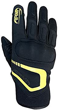 Armr Moto SHV935 Textile Motorcycle Gloves Touring Motorbike Gloves Black XS