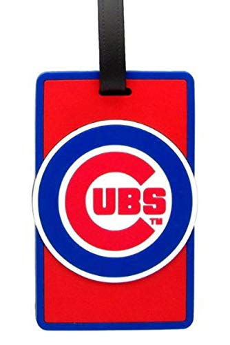 aminco Chicago Cubs - MLB Soft Luggage Bag Tag,One Size