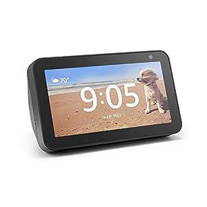Echo Show 5 – Compact smart display with Alexa – Charcoal