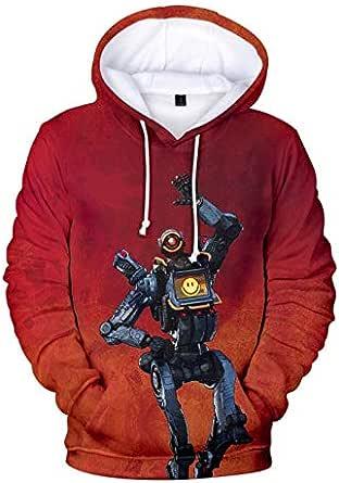 Apex Legends games 3D sweatshirt men&women casual fashion thin hooded pullover long sleeve tops XL yard