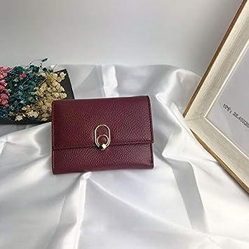 YOIOY Envelope Clutch Bag Wallet Ladies Long Clutch Bag Womens Wallet Korean Version of The Handbag Color : Red Color : Red