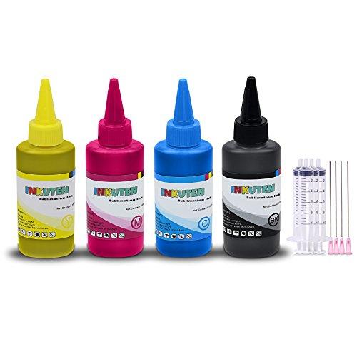 4x100ml True Color PREMIUM PIGMENT ink for Canon PGI-1200 MAXIFY MB2020 MAXIFY MB2320 MAXIFY MB2120 MAXIFY MB2720 Printers (Canon Black Ink Refill)