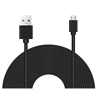 25ft Power Extension Cable Compatible with Many Smart Devices - Sandy Color -