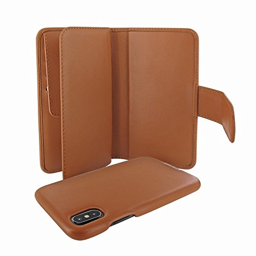 Piel Frama 793 Tan WalletMagnum Leather Case for Apple iPhone X by Piel Frama (Image #3)