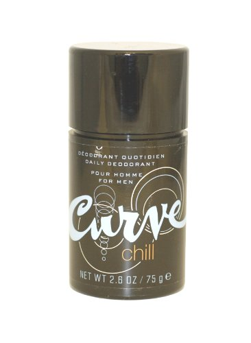 - Curve Chill by Liz Claiborne for Men. Deodorant Stick 2.6 Oz / 75g