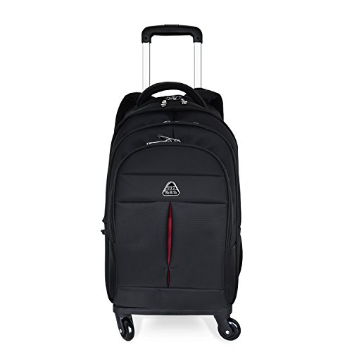 - Little World IT Wheeled Rolling Backpack Lightweight Carry-on Luggage with Freewheel for Traveling Business 16