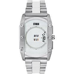 Storm Zorex Japanese Analog White Dial Men's Watch