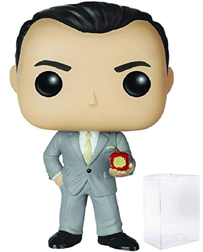 Holmes Bobble Head - Funko Pop! TV: Sherlock - Jim Moriarty Vinyl Figure (Bundled with Pop Box Protector Case)