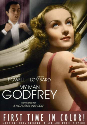My Man Godfrey William Powell Carole Lombard Alice Brady Gail Patrick