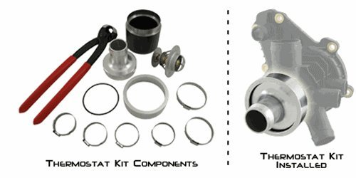 RIVA RXP/RXT/GTX Thermostat Kit for Sea Doo 4-Tec Engines by Riva Racing