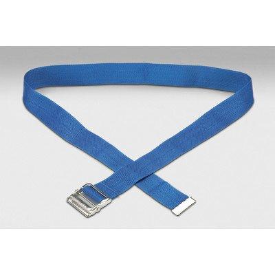 Gait Belt Color: Blue Polypropylene / Metal Buckle
