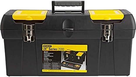 Stanley 24 pulgadas Caja de herramientas con bandeja.: Amazon.es: Bricolaje y herramientas