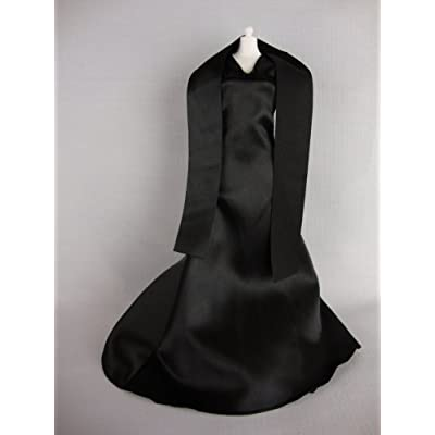 Black Evening Gown with Shawl Limited Edition Made to Fit Barbie Doll: Toys & Games