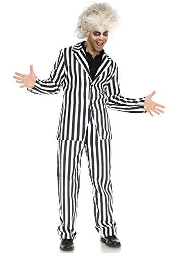 Leg Avenue Men's Costumes, Black/White, Medium